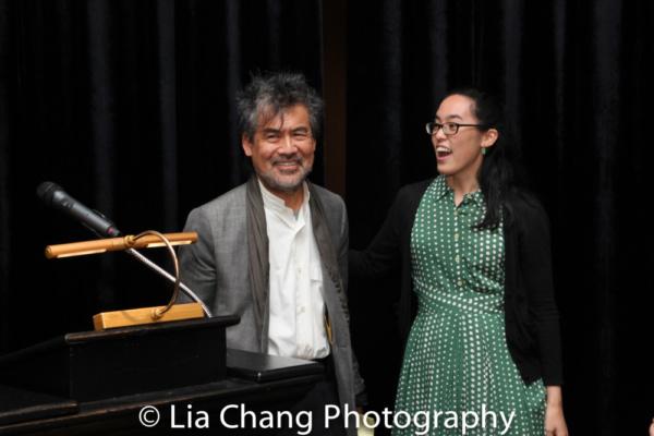 David Henry Hwang and Lauren Yee