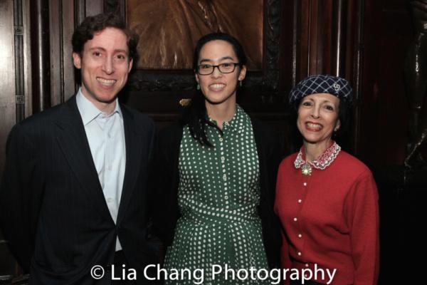 Lauren Yee, David Glanstein, Linda Zagaria Photo