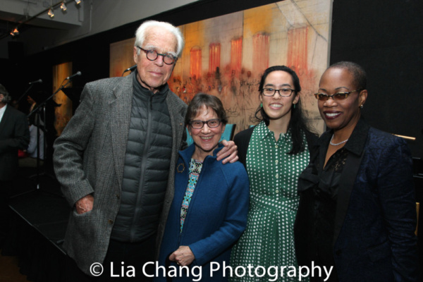 John Guare and Anne Cattaneo with Lauren Yee and Regina Taylor