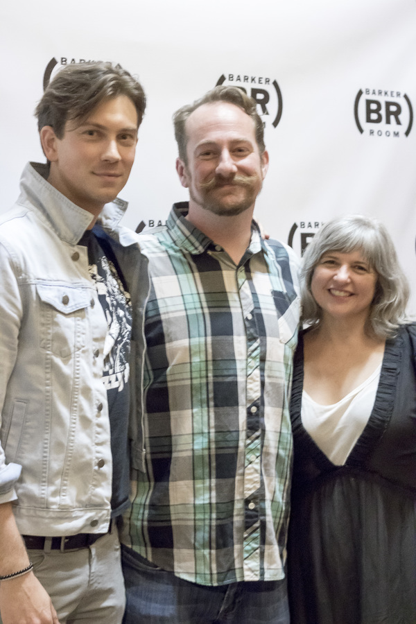 Ryan Ashton, Mark Sitko, and Erin Courtney