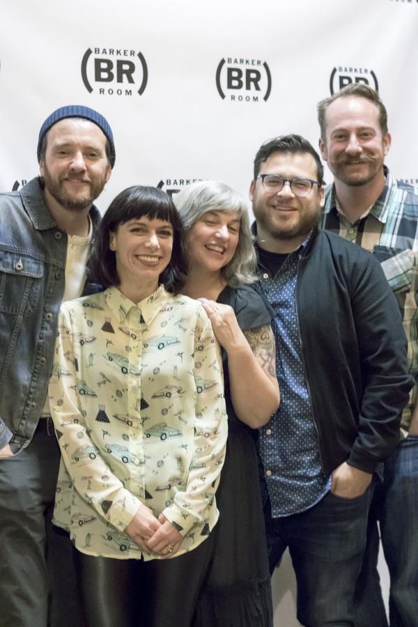 Jason Butler Harner, Sheila Callaghan, Erin Courtney, Christopher Pena, and Mark Sitk Photo