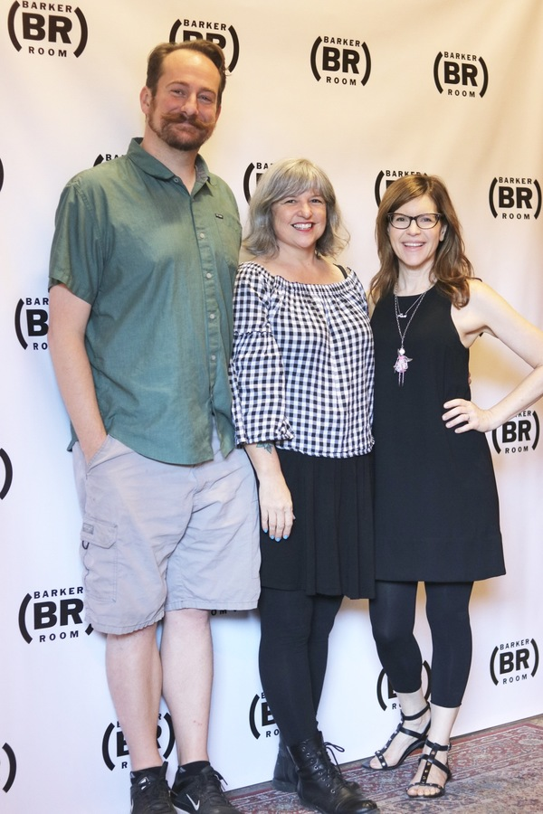 Mark Sitko, Erin Courtney, and Lisa Loeb