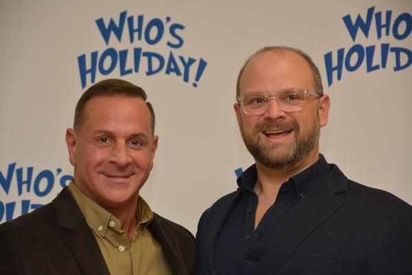 Matthew Lombardo (Playwright) and Carl Andress