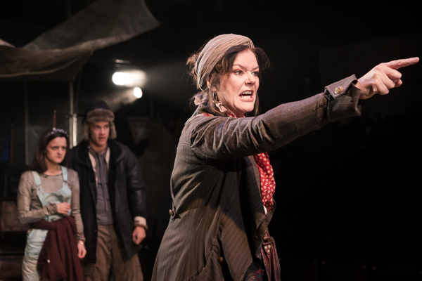 Photo Flash: First Look at Josie Lawrence in 'MOTHER COURAGE' at Southwark Playhouse