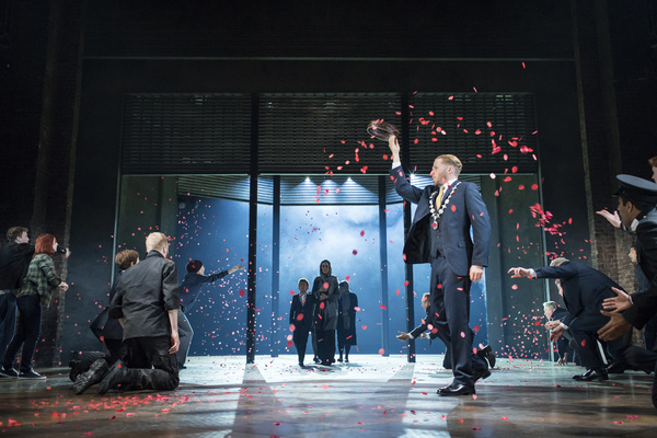 Royal Shakespeare Company production of  CORIOLANUS presented at River Street Theatre