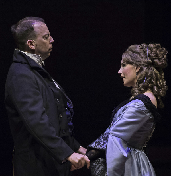 Jason Ross and Harli Cooper in SLEEPY HOLLOW at Cumberland County Playhouse