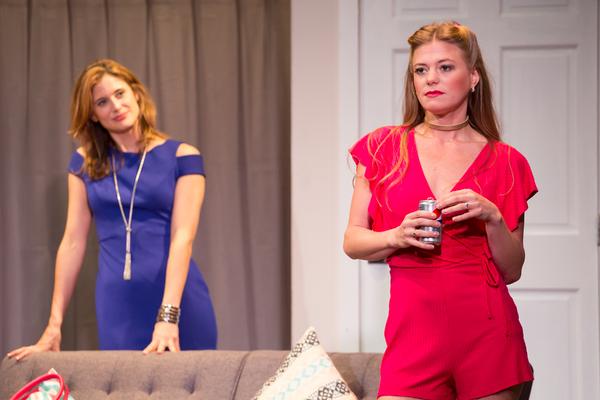 Photo Flash: ROMANTIC TRAPEZOID at Theatre Row