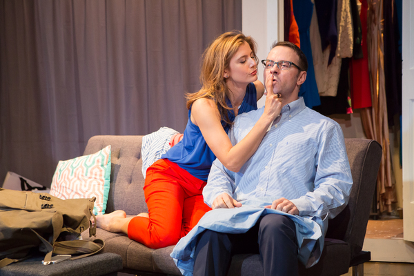Photo Flash: ROMANTIC TRAPEZOID at Theatre Row