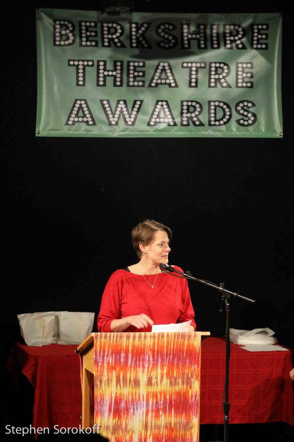 Kristen Van Ginhoven, The Larry Murray Award for Community Outreach and Support through Theater