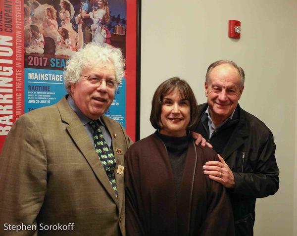 J. Peter Bergman, Marita O'Dea Glodt, Pres. BSC, David Glodt