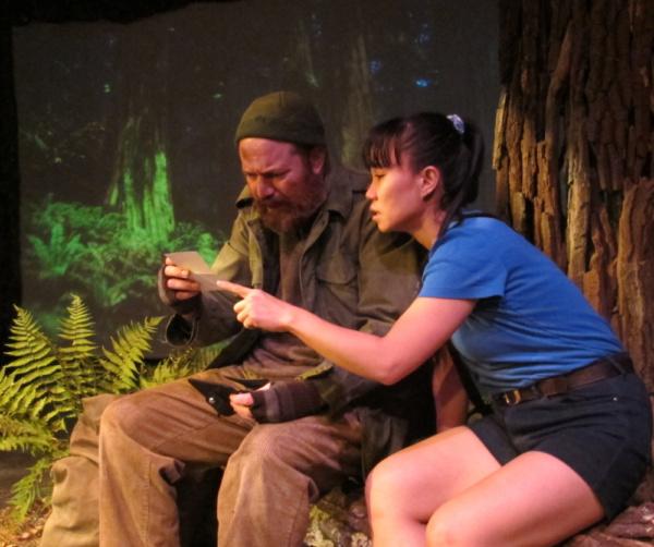 Photo Flash: First Look at REDWOOD CURTAIN at Bridge Street Theatre
