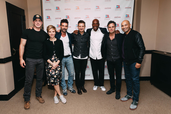 Photo Flash: Scarlett Johansson's OUR TOWN Reading Raises $500K for Puerto Rico Relief