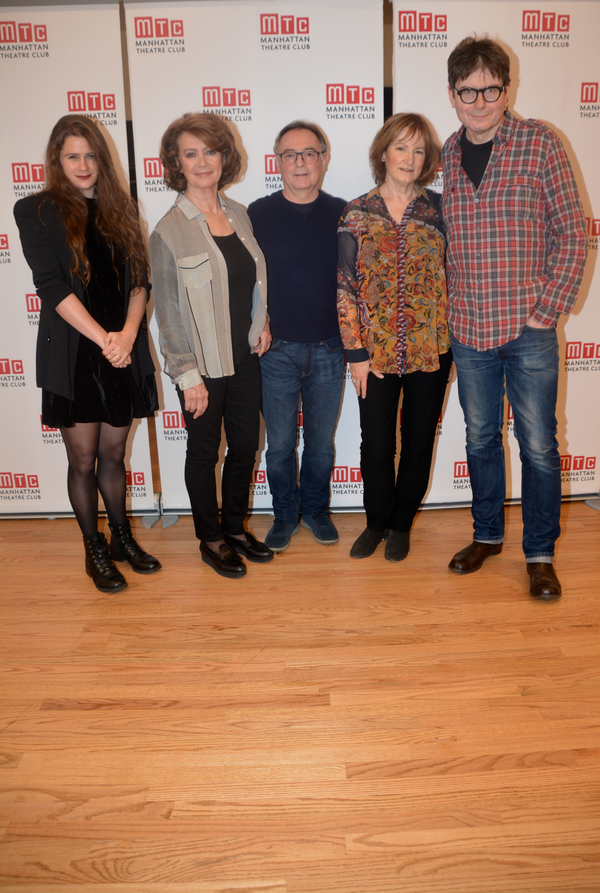 Lucy Kirkwood, Francesca Annis, Ron Cook, Deborah Findlay and James McDonald