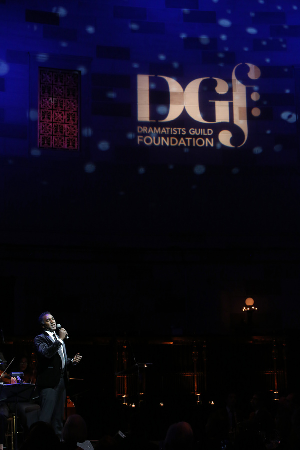 Photo Flash: Carol Burnett, Ramin Karimloo, Norm Lewis, John Mulaney, Stephen Sondheim and More Onstage at DGF's 2017 'Lucky Stars' Gala