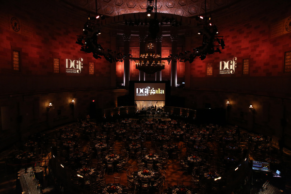 The 2017 Dramatists Guild Foundation Gala reception at Gotham Hall.