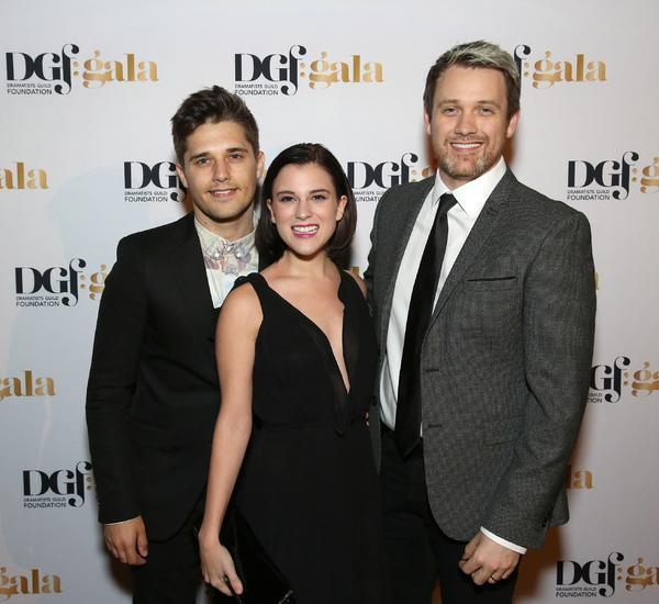 Andy Mientus, Alexandra Socha and Michael Arden