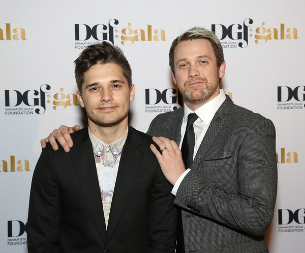 Andy Mientus and Michael Arden