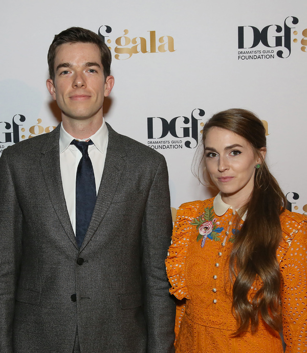 John Mulaney and Annamarie Tendler
