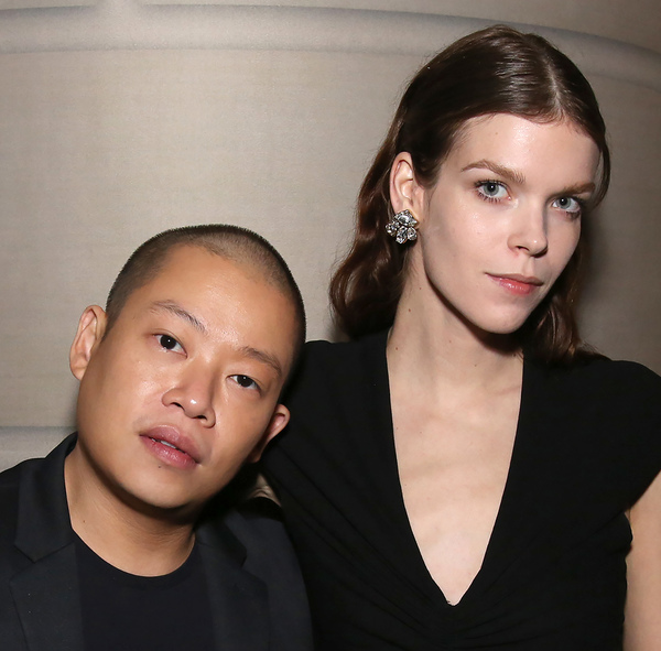 Jason Wu and Meghan Collinson