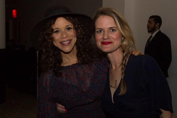 Rosie Perez and Emily Simoness Photo