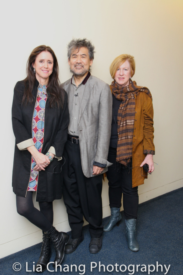Julie Taymor, David Henry Hwang, and Rachel Cooper