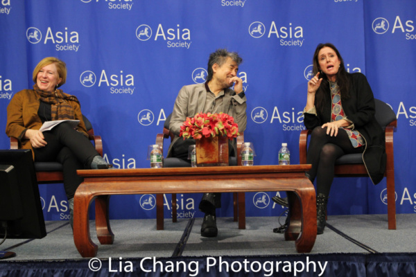 Rachel Cooper, David Henry Hwang and Julie Taymor