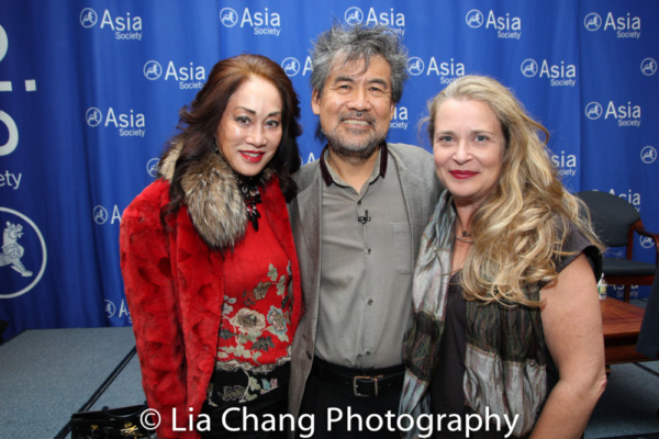 Lucia Hwong Gordon, David Henry Hwang and Kathryn Layng