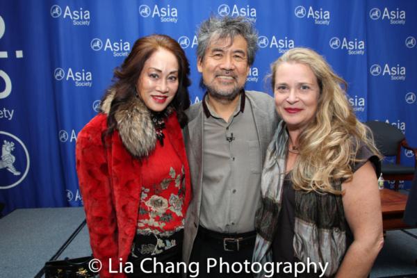 Lucia Hwong Gordon, David Henry Hwang and Kathryn Layng Photo