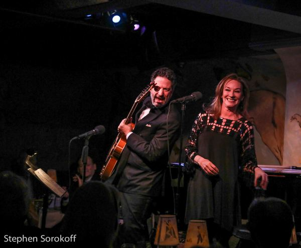 Photo Coverage: John Pizzarelli & Jessica Molaskey Return to Cafe Carlyle
