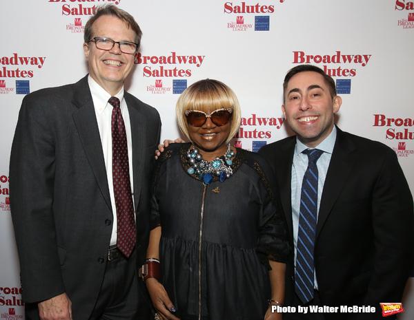 Mark Schweppe, Irene Gandy and Hal Goldberg