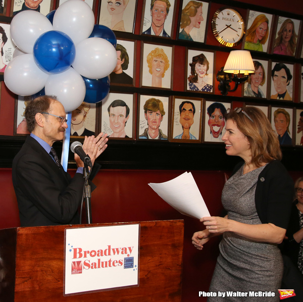 David Hyde Pierce and Julie Menin