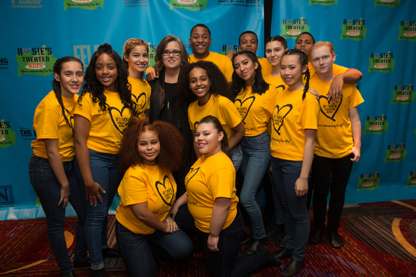 Photo Flash: Stars of THE LION KING, Christopher Jackson and More Take Part in Rosie's Theater Kids Fall Gala