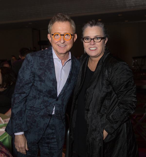 Thomas Schumacher and Rosie O'Donnell