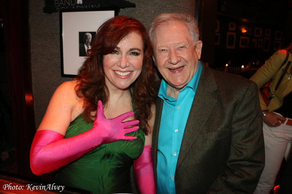 Debbie Gravitte and Harvey Evans