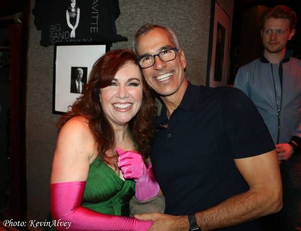 Debbie Gravitte and Jerry Mitchell
