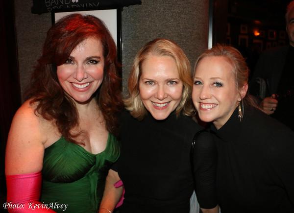 Debbie Gravitte, Rebecca Luker and Sally Wilfert