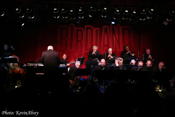 photo flash debbie gravitte celebrates big band broadway at birdland. Black Bedroom Furniture Sets. Home Design Ideas