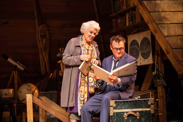 Tyne Daly and Scott Kradolfer Photo