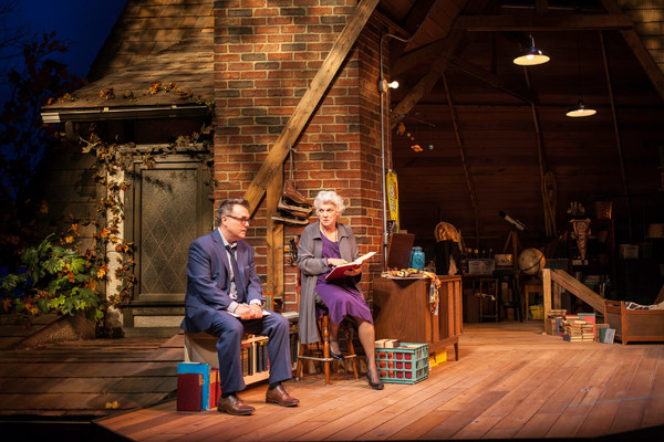 Tyne Daly and Scott Kradolfer