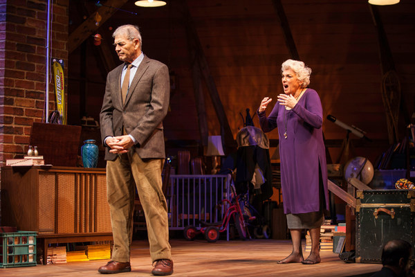 Tyne Daly and Robert Forster star in the world premiere of Chasing Mem'ries: A Photo