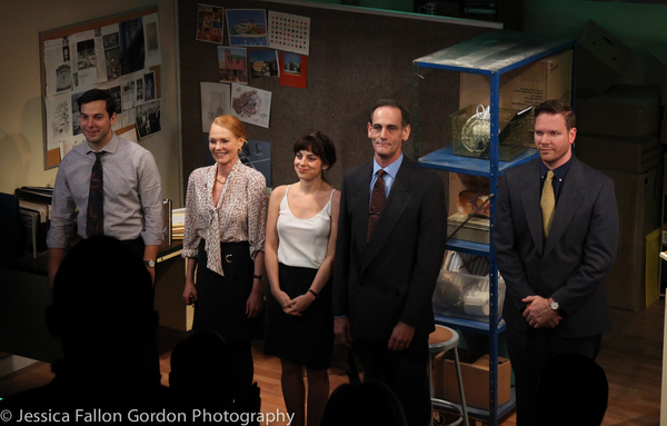 Skylar Astin, Marg Helgenberger, Krysta Rodriguez, Damian Young, and Jim Parrack