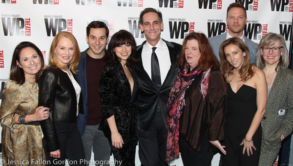 Marg Helgenberger, Skylar Astin, Jenna Segal, Krysta Rodriguez, Damian Young, Theresa Rebeck, Jim Parrack, Adrienne Campbell-Holt, and Lisa McNulty
