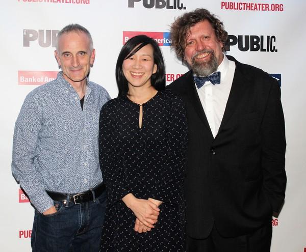 Neel Keller, Julia Cho and Oskar Eustis
