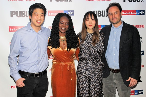 Ki Hong Lee, Adeola Role, Sue Jean Kim and Greg Keller Photo