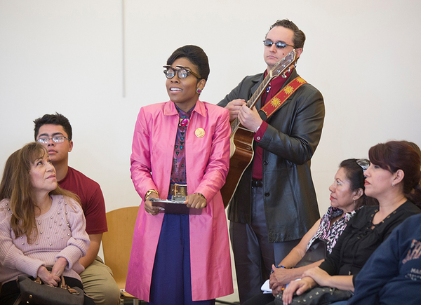 Photo Flash: First Look at Globe For All's Free Touring Production of TWELFTH NIGHT