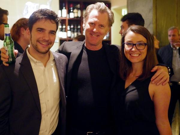 Evan Bernardin, Charles Cissel and Gwynne Richmond