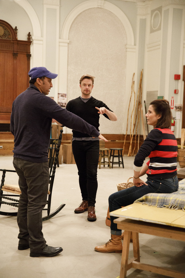 Aasif Mandvi, Christopher Wheeldon, Stephanie J. Block