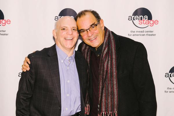 Eddie Korbich and Edward Gero