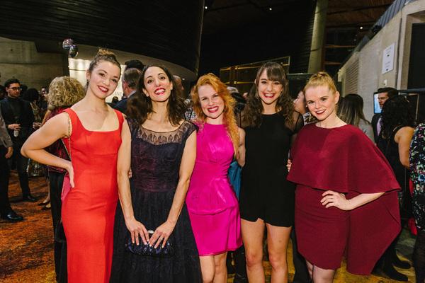 Gabi Stapula, Heidi Kershaw Quick, Maggie Lawrence, Casey Wenger-Schulman and Bridget Riley