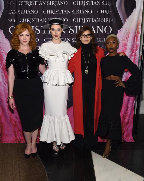 Christina Hendricks, Coco Rocha, Gina Gershon, and Cynthia Erivo